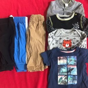 Bundle 6-9 and 9 months clothes